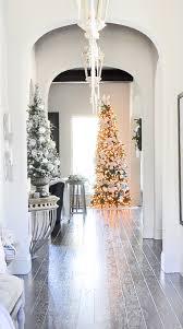 deck halls christmas home tour entry decor gold designs
