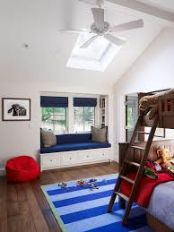 Bunk Bed Fan Bedroom Bunk Beds With Ceiling Fan And Floor Also Skylights