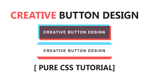 tutorial css design css creative button design html css cool hover effect tutorial