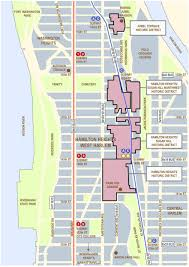 Map Of Manhattan New York City by Neighborhood Maps Hamilton Heights West Harlem