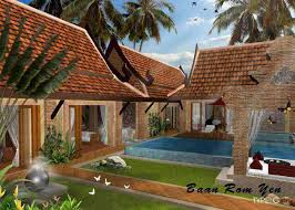 ideas balinese style house