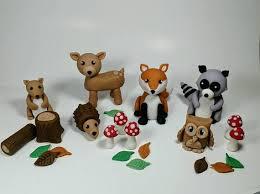 woodland cake toppers fondant woodland cake toppers fondant animals woodland