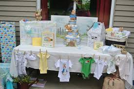 Baby Shower Table Decoration by Baby Shower Gift Table My Stuff Pinterest Babies And Boy