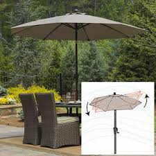 Patio Table And Umbrella Outdoor Patio Umbrellas Costco