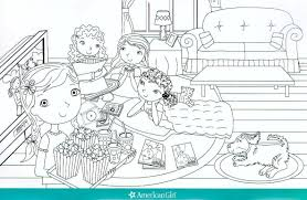 american doll coloring pages grace youtuf com