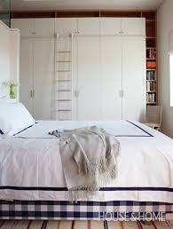 Clever Staircase Storage Country Bedrooms Home And Organized - Clever storage ideas bedroom