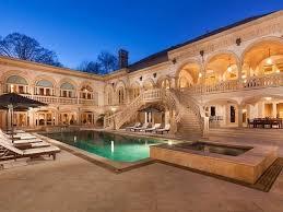a luxurious mediterranean estate in buckhead atlanta