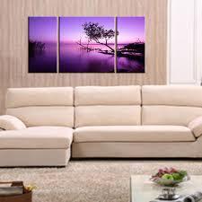 best quality 3 picture combination purple light black tree