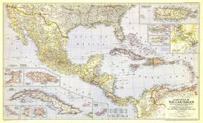 North American Time Zones Map by Political Map Of Mexico Central America And The Caribbean You