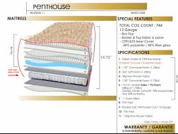 penthouse mattress at house of oak u0026 sofas