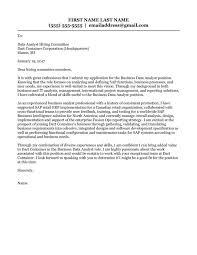 cover letter data analyst corol lyfeline co