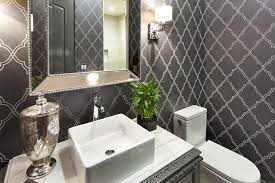 wallpaper bathroom ideas gorgeous wallpaper ideas for your powder room