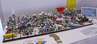 what the lego winter sets look like together great lego