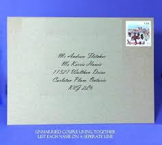 wedding invitation address labels mailing labels for wedding invitations unmarried living