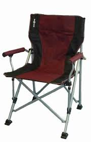 Camping Chair Accessories Raptor Folding Camping Chair Burgundy Red Black