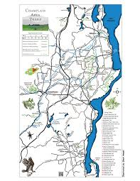 Great Lakes Crossing Map Champlain Area Trails Trails Maps And Descriptions