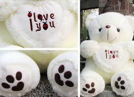 big valentines day teddy bears 1pc 50cm big plush teddy valentines day i you big