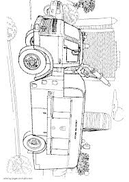 english fire truck coloring page