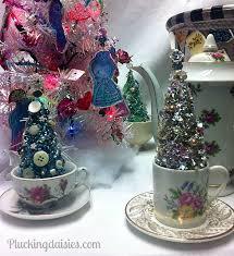 teacup ornaments decore