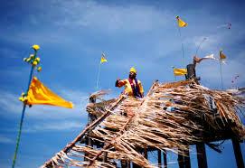 beach thanksgiving a shaman of malaysia u0027s indigenous mah meri tribe performs prayers