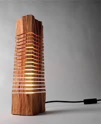Wooden Light Fixtures Minimalist Split Wood Lights And Sculptures By Split Grain Colossal