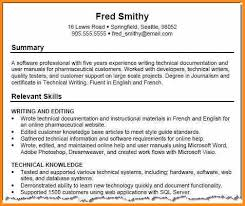 resume transferable skills examples resume technical skills