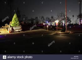 santa rosa christmas lights santa rosa calif a former coffey park resident decorates his
