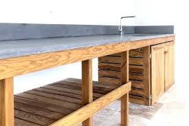 meuble cuisine exterieure bois cuisine exterieure pas cher oratorium info