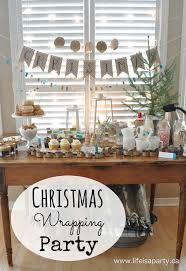 Personalized Party Decorations Christmas Wrapping Party Easy Ideas For Personalized Party