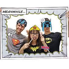 Superhero Photo Booth Dc Superhero Girls Partyspot