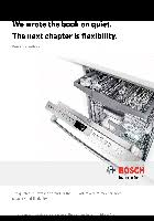 Bosh Dishwasher Manual Dishwasher Bosch Shp65t56uc User U0027s Manuals In Pdf