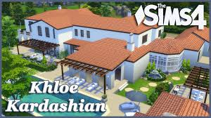 the sims 4 khloe kardashian house build part 2 youtube
