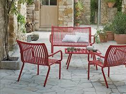 canapé de jardin design un salon de jardin design décoration