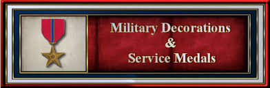Awards And Decorations Army Eagles Of War Awards And Decorations Uniformed Services Of The