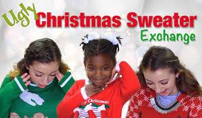 tacky christmas sweater exchange brooklyn and bailey youtube
