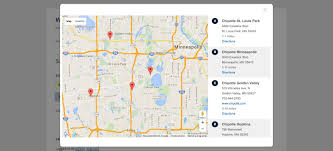 Zip Code Finder Map by Cardinal Store Locator Plugin For Wordpress