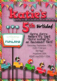Six Flags Birthday Freizeitpark Geburtstag Einladung Zu Einer Feier Brauch