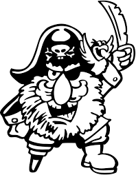 pirate coloring pages coloringsuite