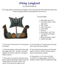 viking crafts for kids