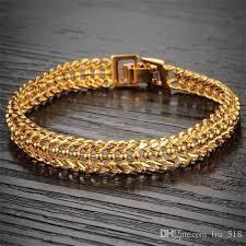 white gold plated charm bracelet images Lcl jewelry women gold plated charm bracelet vintage jewelry 18k jpg