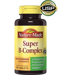 Obat L Bio nature made b complex tablet