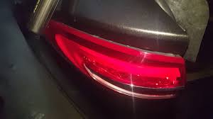 2012 ford fusion tail light bulb how to remove the tail light on a 2017 ford fusion mondeo youtube