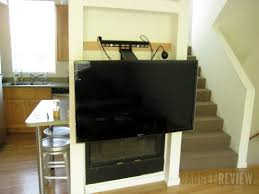 mounting a tv on the wall dynamic mounting down and out flatscreen tv mount review