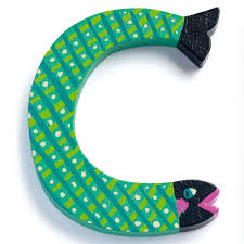 letter c djeco animal letter decorative alphabet letter
