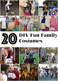 20 diy fun family costumes the cow country housewife
