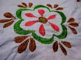 Fish Bone Stitch Embroidery Tutorials Embroidery Herringbone Stitch Makaroka
