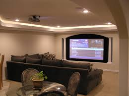 small basement theater home design ideas