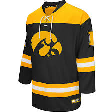 iowa hawkeye sweater hawkeyes open hockey sweater