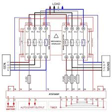 automatic transferred switch ats circuit diagram elec eng world