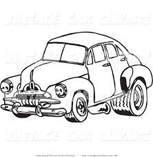 cartoon car black and white car black and white royalty free